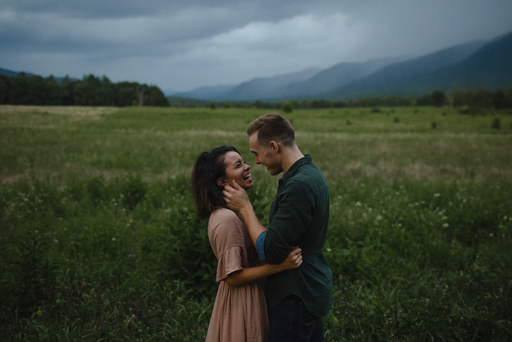 ariannamtorres and isaac engagement session at cades cove smoky mountains elopement-105.jpg