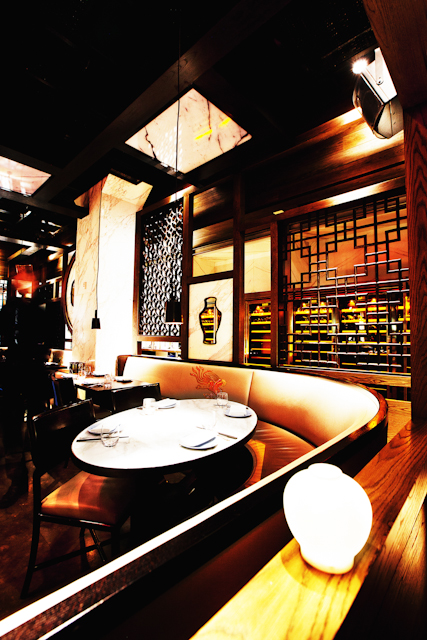 MODERN CHINESE FINE DINING RESTAURANT HAKKASAN NEW YORK, LED BY CHEF HO CHEE BOON, WITH INTERIOR DESIGN BY GILLES & BOSSIER, AS SEEN BY SOME/THINGS AGENCY
