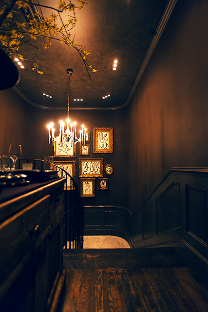 renowned chef JOHN DELUCIE's CROWN RESTAURANT in manhattan, new york / photographed by matteo carcelli, SOME/THINGS AGENCY