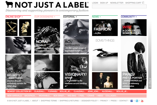 SOME/THINGS CURATES NOT JUST A LABEL FOR PARIS FASHION WEEK [29 FEBRUARY to 7 MARCH 2012]