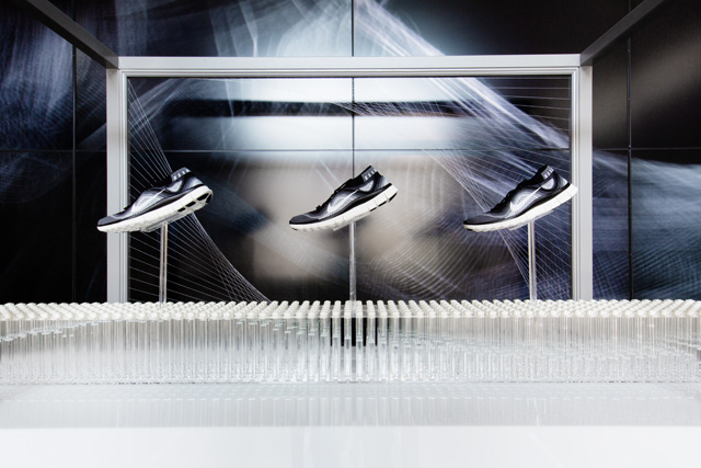 sports shoes 5fc57 e8162  NATURE AMPLIFIED  NIKE FREE FLYKNIT CITY PACK INSTALLATION AT NIKE STADIUM    1948 LONDON.