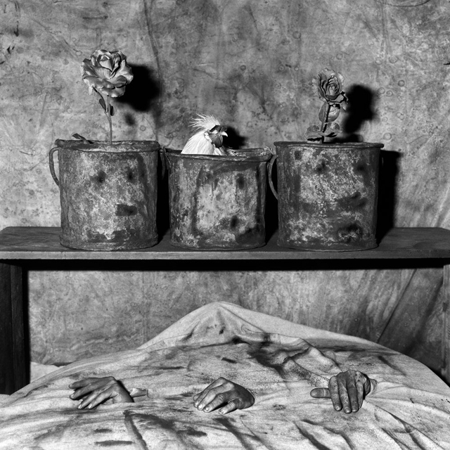 THREE HANDS [2006] photographed by SOME/THINGS contributor ROGER BALLEN, featured in his book 'BOARDING HOUSE' [2009]