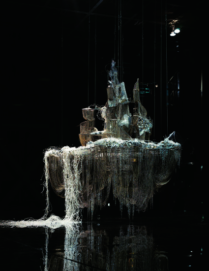 SOME/THINGS MAGAZINE ISSUE003 contributor Lee Bul, A Perfect Suffering, 2011. © Photo : Jeon Byung-cheol. Courtesy : Studio Lee Bul, Séoul