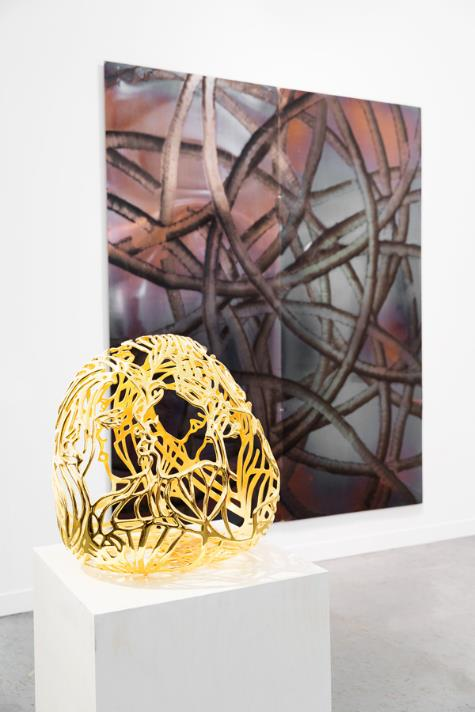 aaron young ghada amer kukje gallery by nat urazmetova | SOME/THINGS S/TUDIO