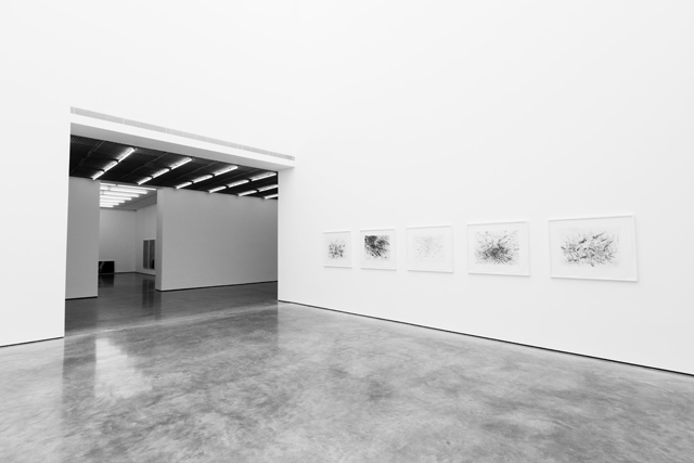 SOMESLASHTHINGS AGENCY WHITE CUBE Bermondsey London Julie Mehretu by Nat Urazmetova 02.jpg