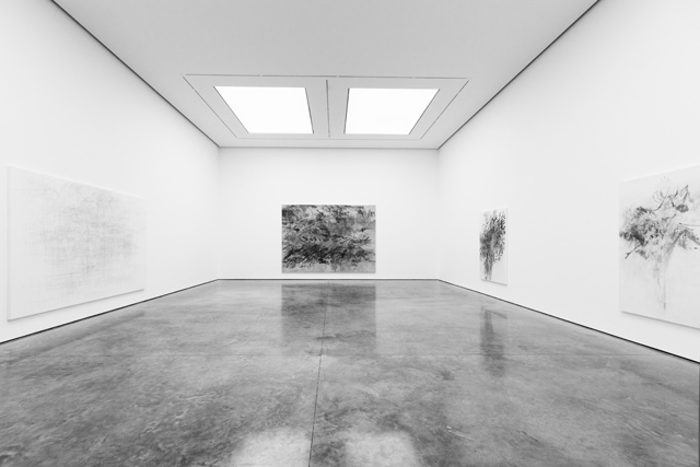 SOMESLASHTHINGS AGENCY WHITE CUBE Bermondsey London Julie Mehretu by Nat Urazmetova 04.jpg