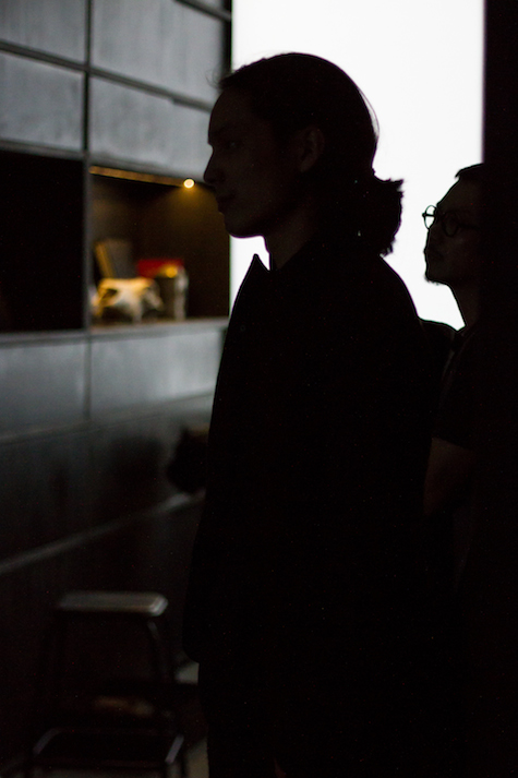 ziggy chen & his team at S/T CONCEPT\STORE | backstage image by dario ruggiero | SOME/THINGS S/TUDIO