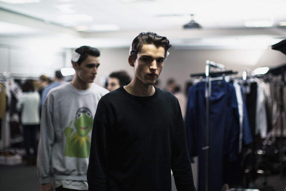 kris van assche fall/winter 2014 behind the scenes by matteo carcelli | SOME/THINGS S/TUDIO