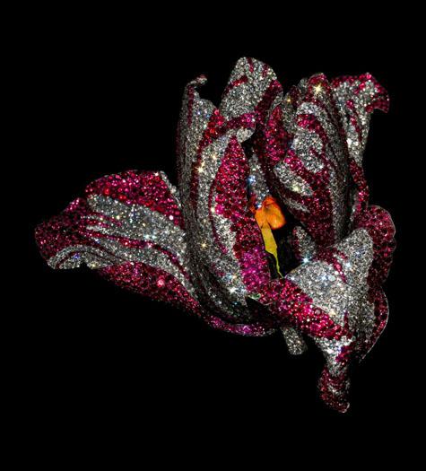 tulip brooch, 2008