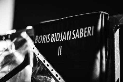 boris bidjan saberi fall/winter 2014 structurism backstage photography by matteo carcelli | S/TUDIO