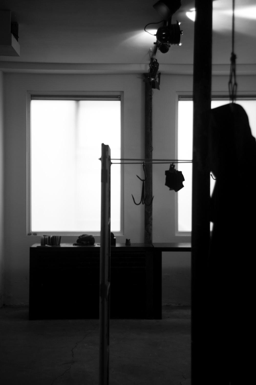 lumen et umbra showroom installation at S/T by laurent segretier