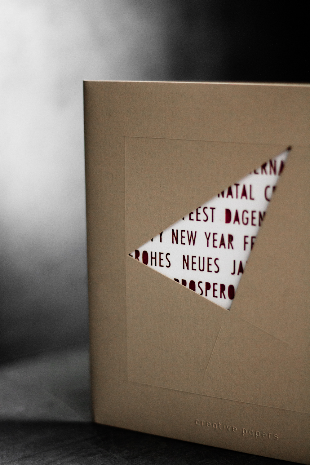 arjowiggins creative papers greetings card photography by dario ruggiero | S/TUDIO