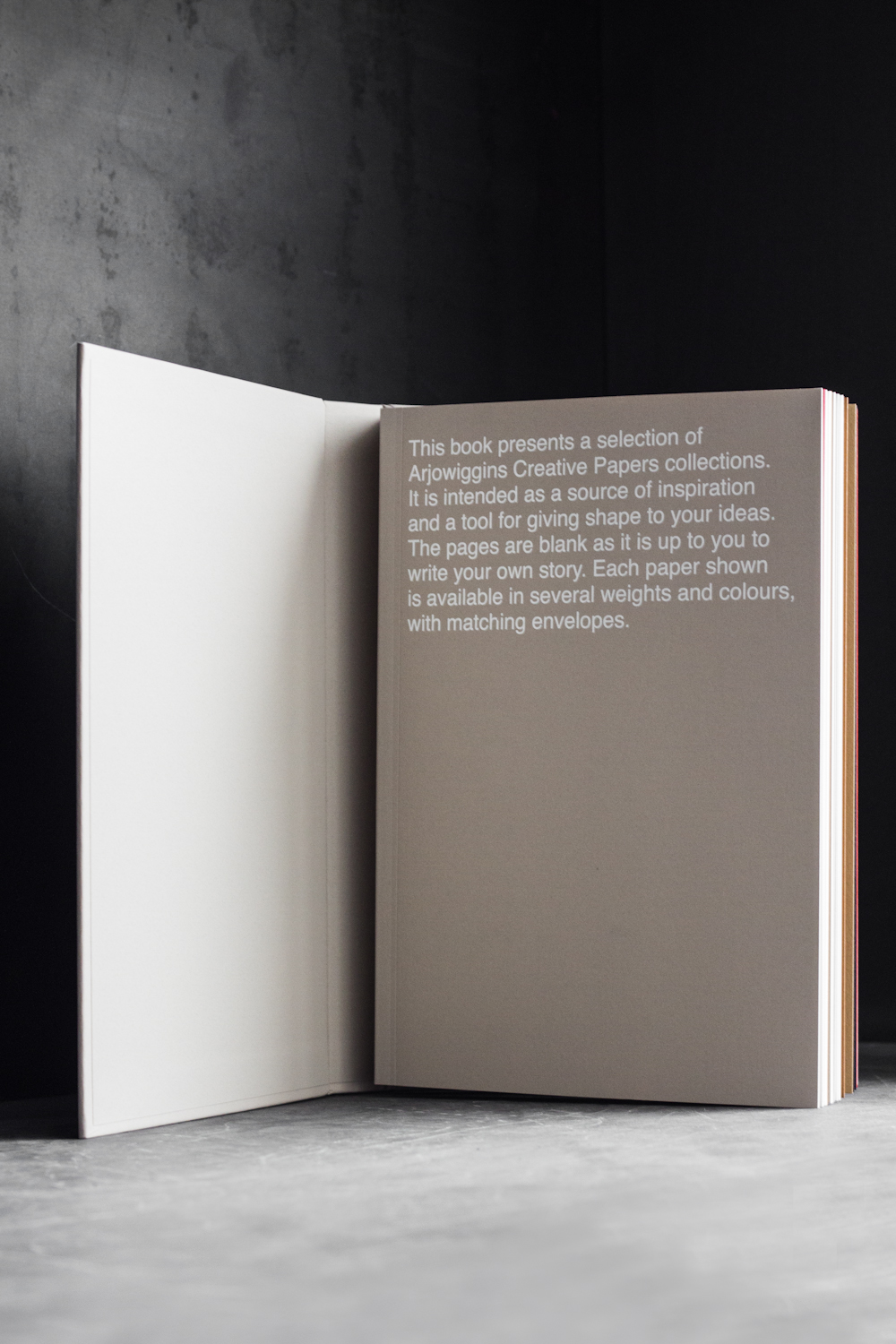 arjowiggins creative paper collection book photography by dario ruggiero | S/TUDIO