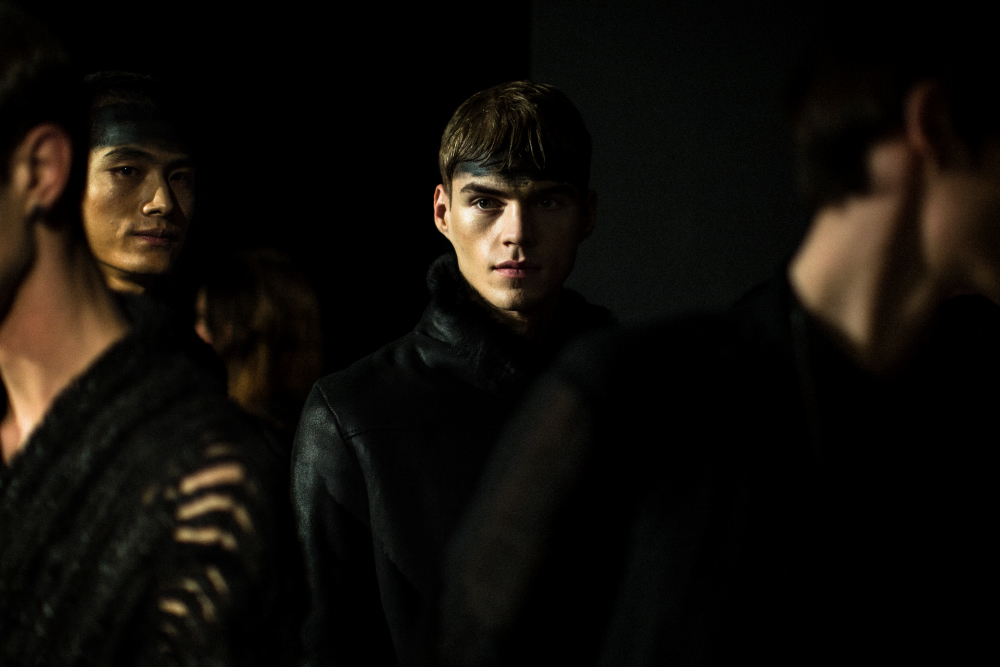 cedric jacquemyn fall/winter 2014 show by matteo carcelli | S/TUDIO