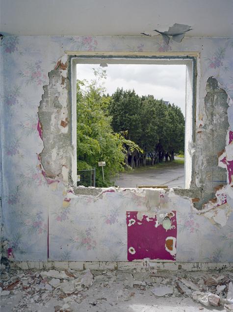 sans titre, 2007. série fenêtres. collection de l'artiste© mathieu pernot