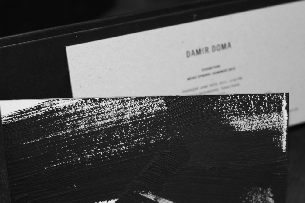 damir doma ss15 invitation photography by nicklas thrysøe | S/TUDIO