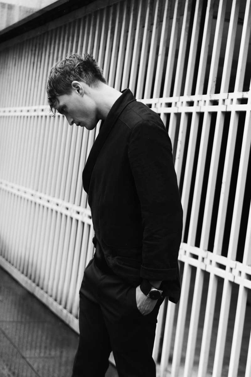 vest thomas demess t-shirt dior trousers kris van assche watch fob paris photography by elise toïde | S/TUDIO