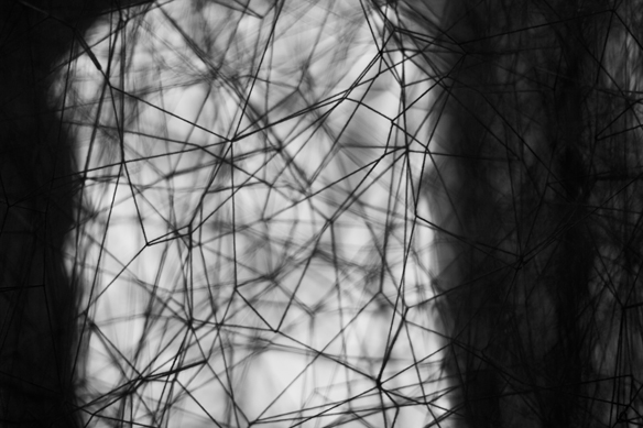 chiharu shiota exhibition at galerie daniel templon photography by nicklas thrysøe | S/TUDIO