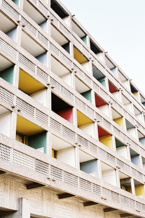le corbusier - cité universitaire photography by virginie khateeb | S/TUDIO