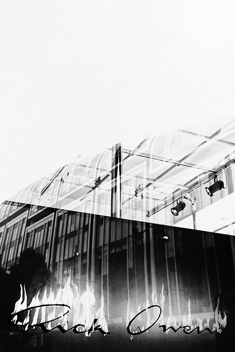 rick owens at selfridges Londonphotographyby nat urazmetova| S/TUDIO