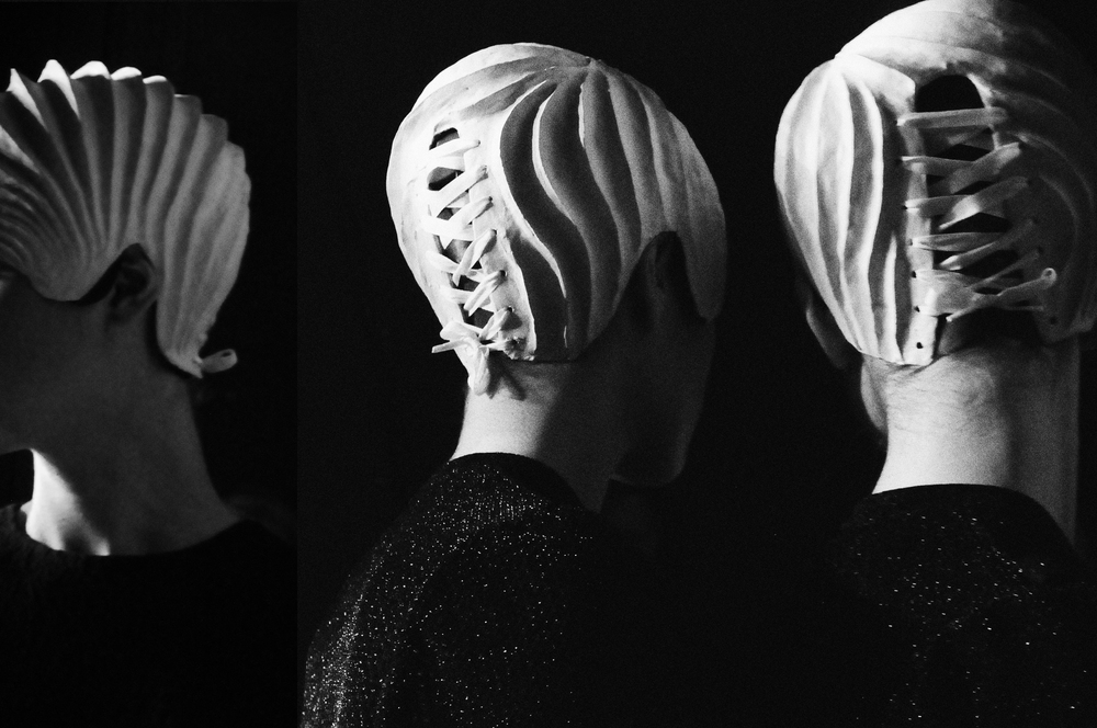 anrealage SS 2015 backstage photography by floriana castagna | S/TUDIO