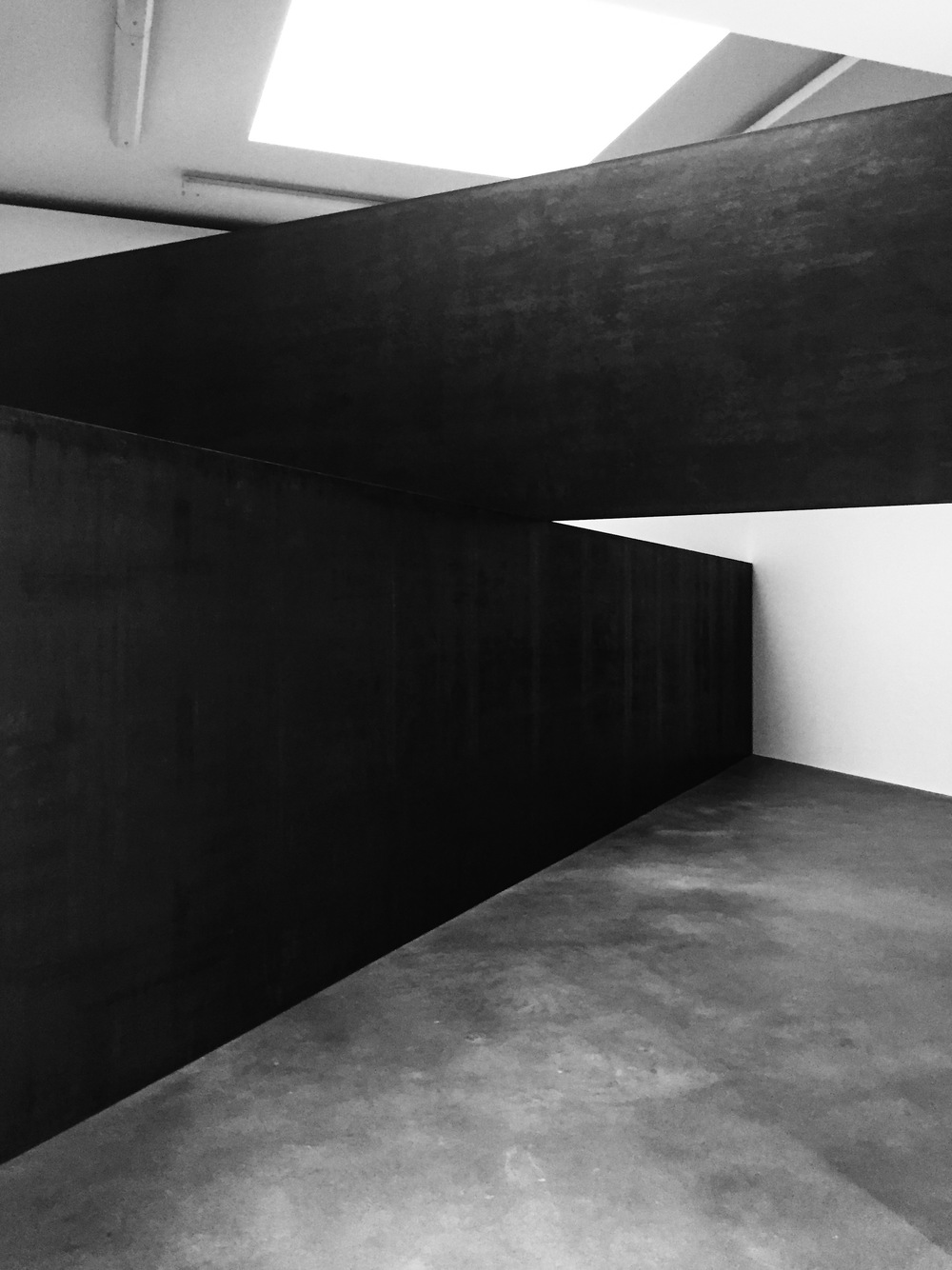 richard serra london cross photography by paul joyce | S/TUDIO