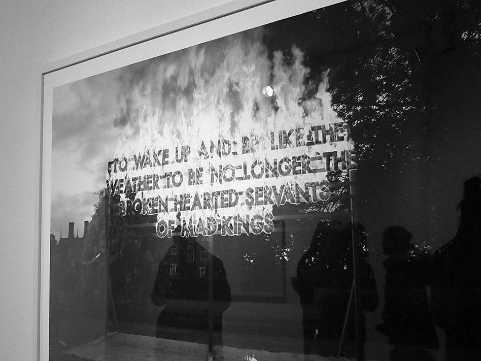 robert montgomery opening event photography by nadine elfenbein | S/TUDIO