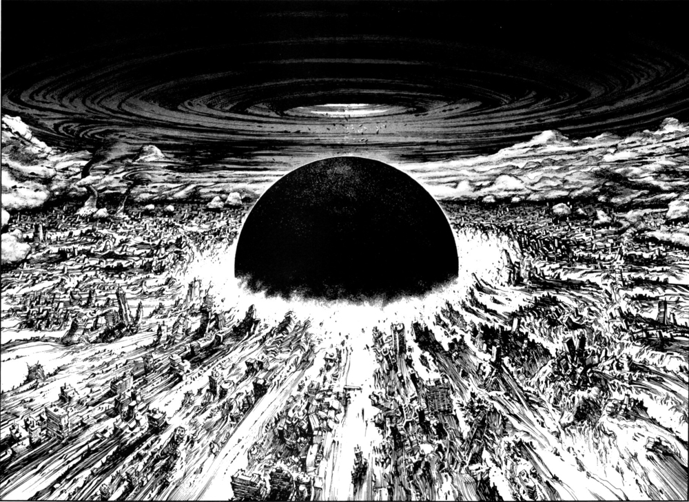 AKIRA Neo-Tokyo by  Katsuhiro Otomo