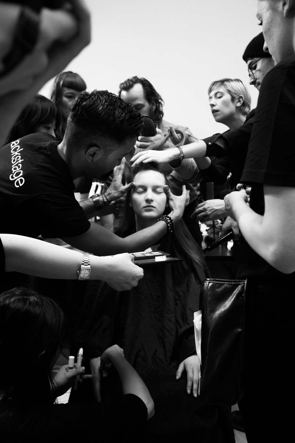 sharon wauchob backstage photography by james cheng tan | S/TUDIO