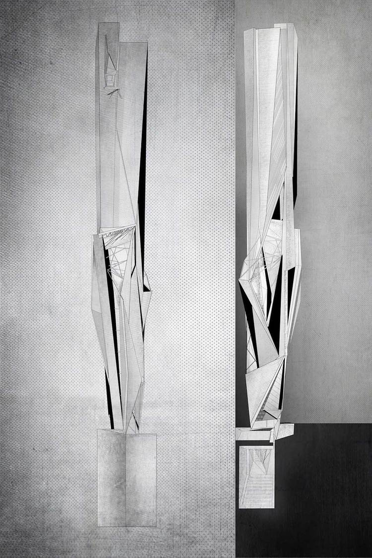 atreo skycraper concept by atelier crilo