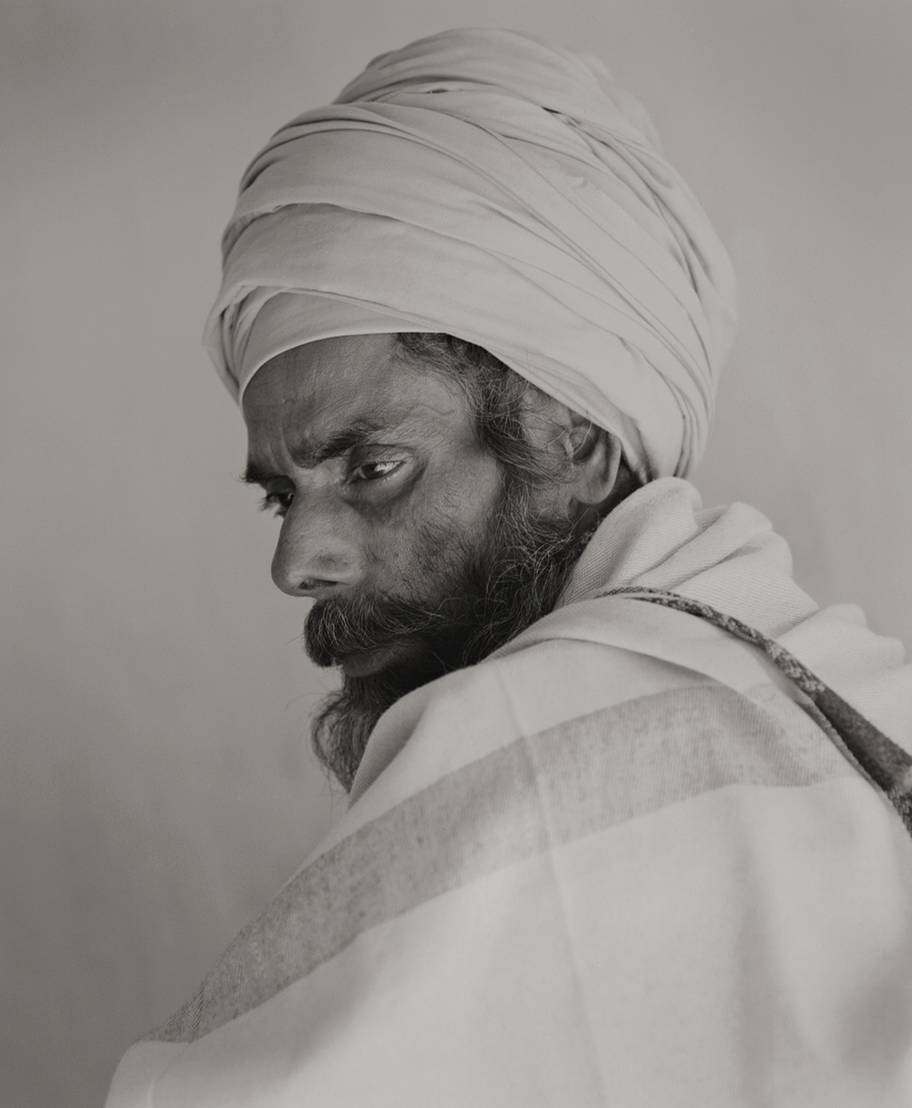 'eternal light' #6 allahabad. india 2013. a sadhu (saint who left the ordinary life, serve only to their gods) who came to join the kumbh mela (hindu ritual festival held once in every 12 years) by kenro izu