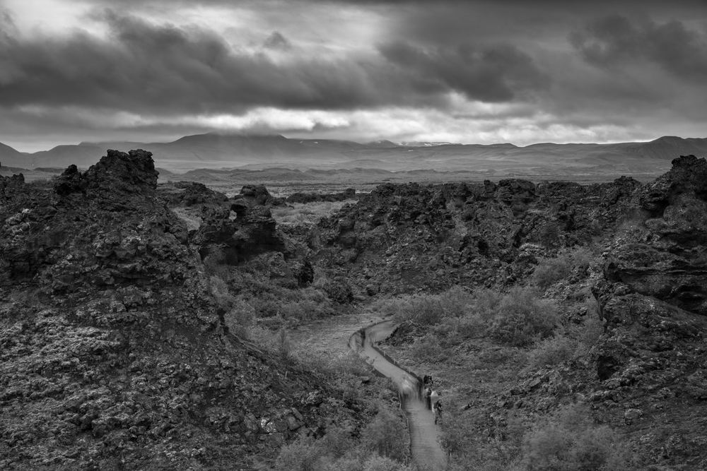 dimmuborgir lava fields, akureyri iceland photography by david jensen