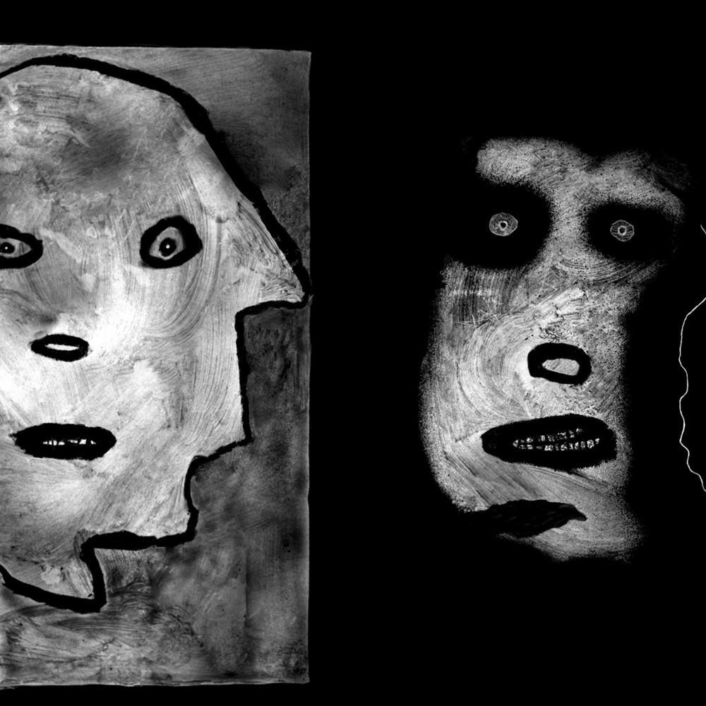 Then and Now, 2007.  From the upcoming book ''The Theatre of Apparitions''   © Roger Ballen