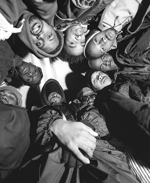 Wu-Tang Clan. NYC. 1992 © Chi Modu