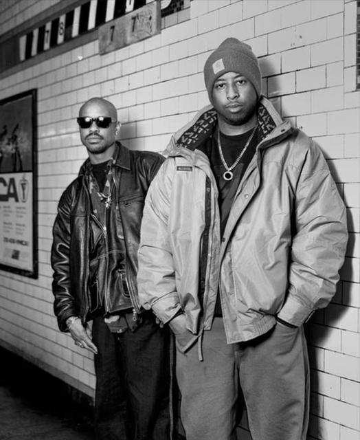 Gang Starr. NYC. 1994 © Chi Modu