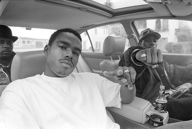 Nate Dogg, Daz Dillinger & Kurupt. Los Angeles. 1996 © Chi Modu