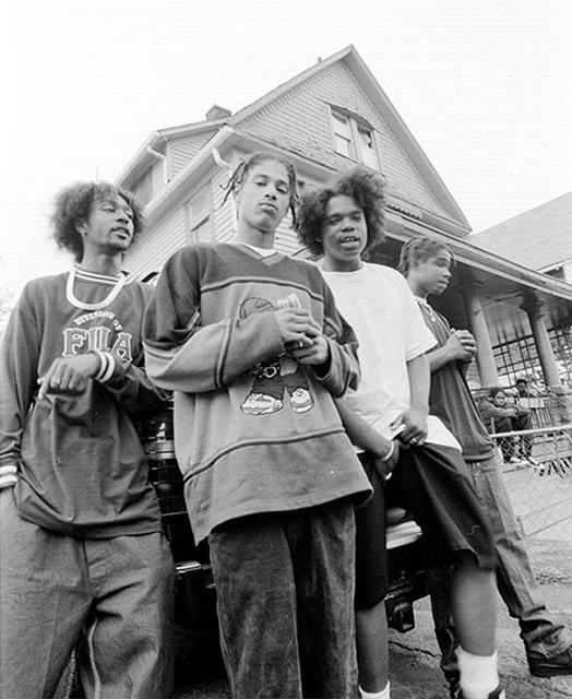 Bone Thugs N Harmony. Cleveland. 1995 © Chi Modu