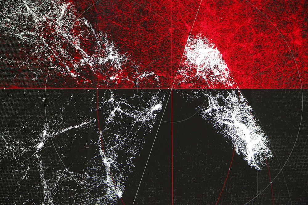Ryoji Ikeda, the planck universe [macro] 2015.© Michael Kneffel