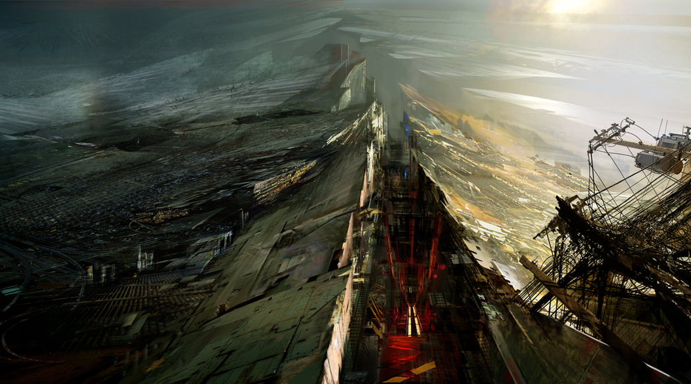 Daniel Dociu.   Under Tomorrows Sky.   Concept Art.   2012