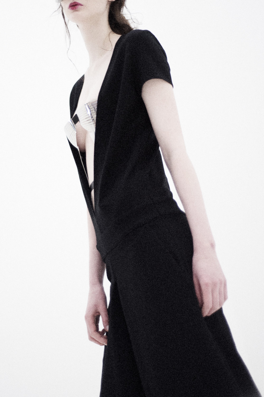 jumpsuit Minimal To, metal corset Design Digest