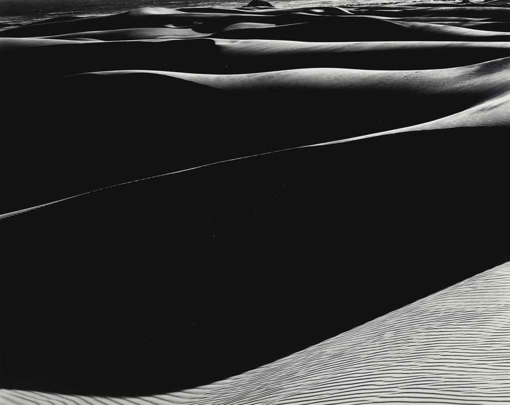 Edward Weston - Dunes Oceano S-37 1936 - Robert Klein Gallery
