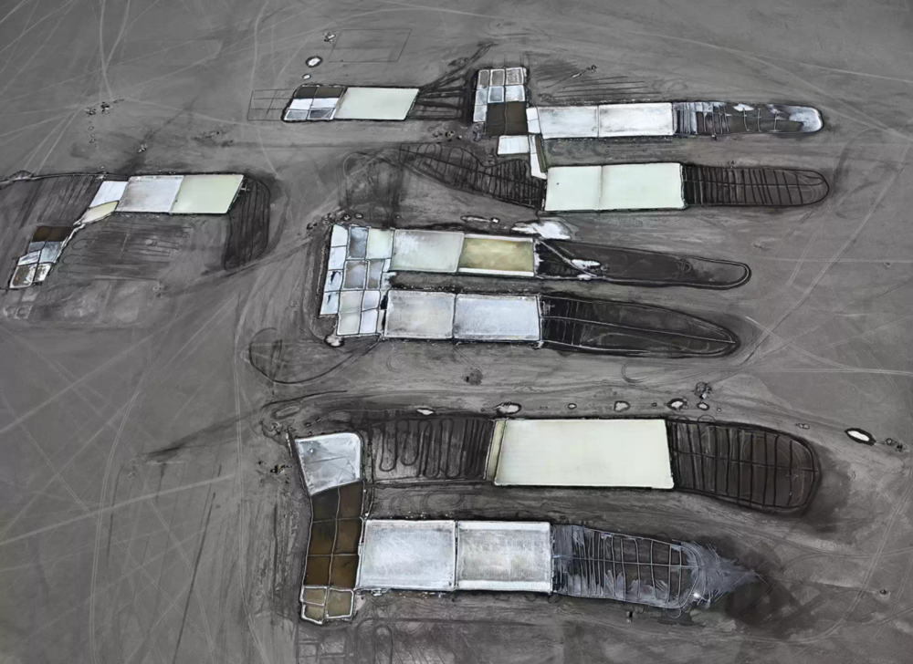 Edward Burtynsky - Salt Pans #25 India  2016 - Flowers Gallery