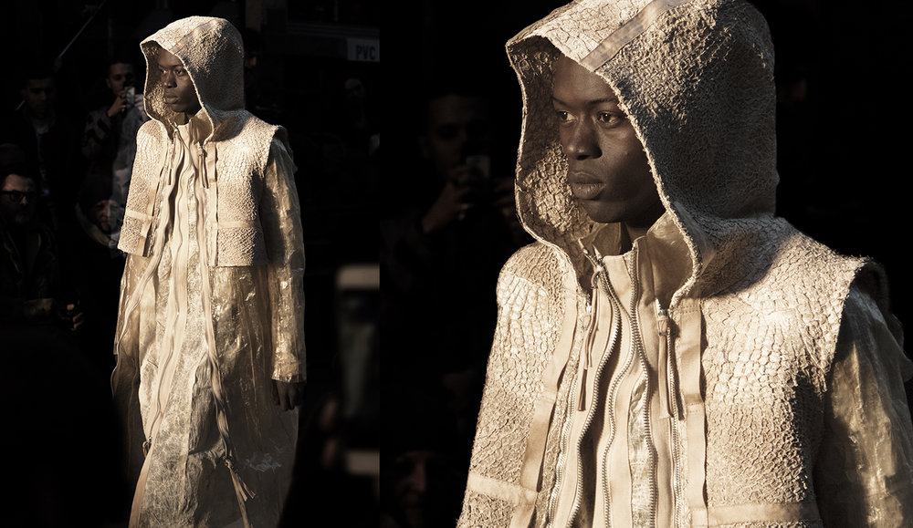 Boris Bidjan Saberi Autumn/Winter 2017-2018 men collection photography by Pattern Caption 7