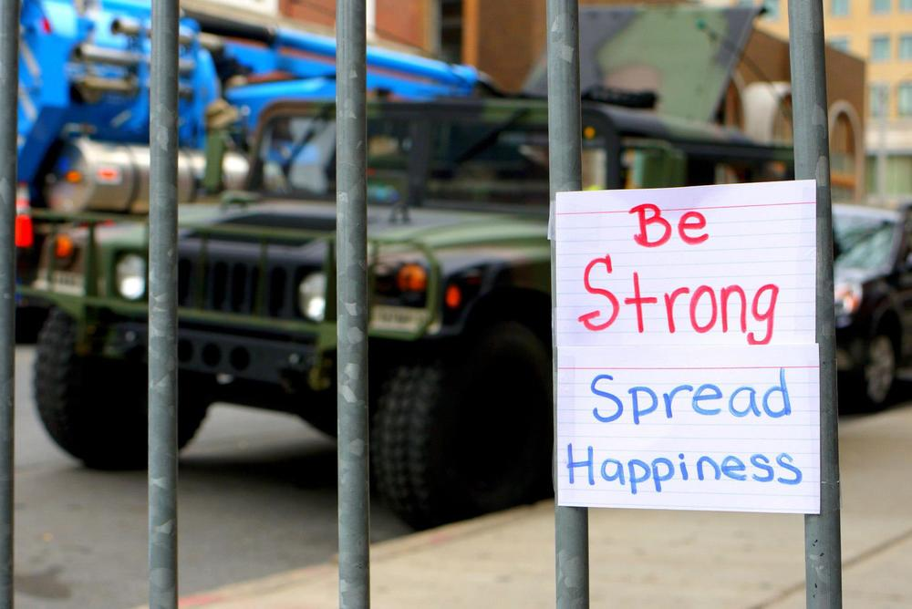 Boston Marathon 2013 |  Be strong
