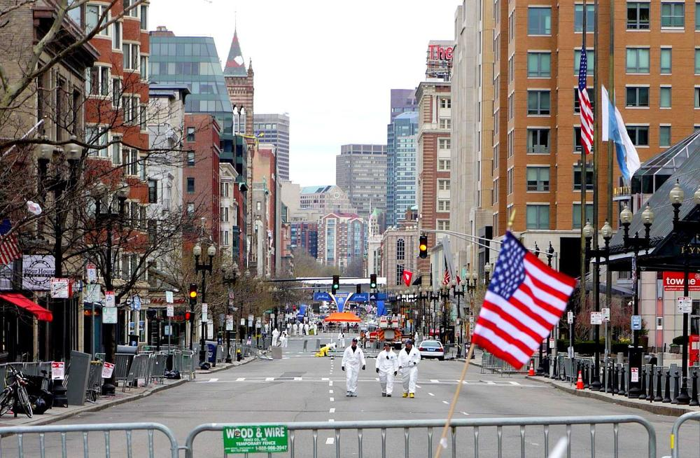 Boston Marathon 2013 |  Searching for clues