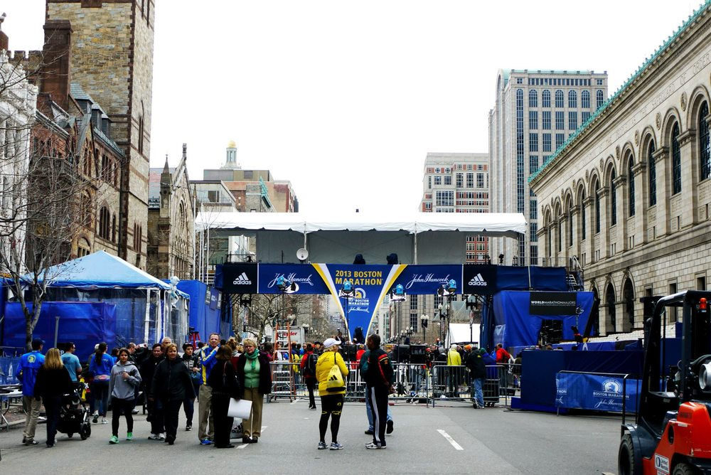 Boston Marathon 2013 |  The final stretch to the finish line