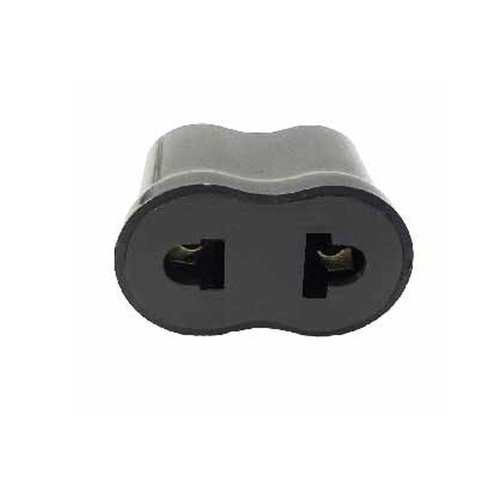 Adapter Plug America to South America Non Grounded A Polarized ...