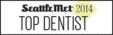 Dr. Wong was voted as a top dentist in the Seattle area by Seattle Met Magazine.