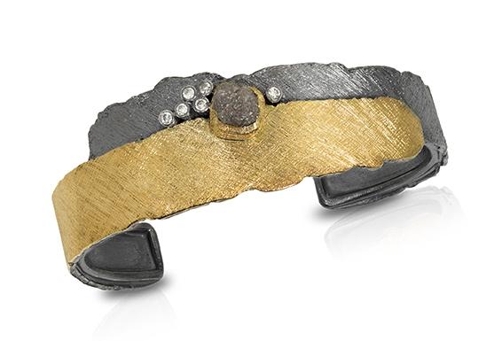 Lava Cuff Bracelet