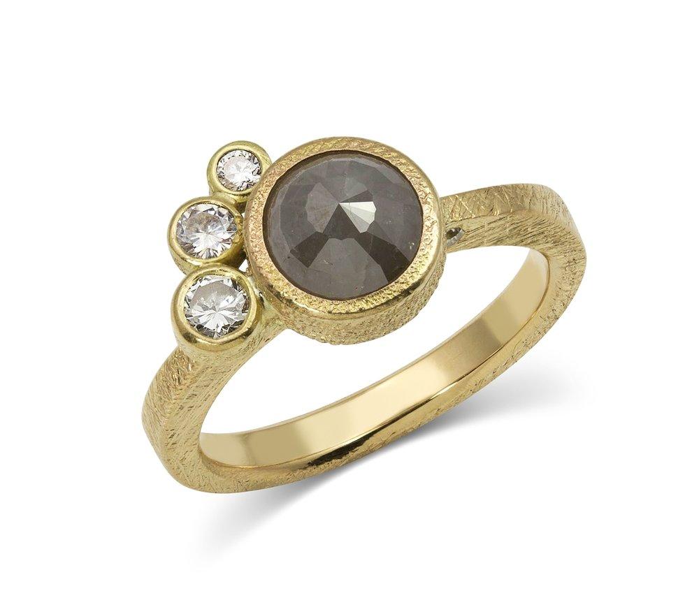 Gold Trio Ring